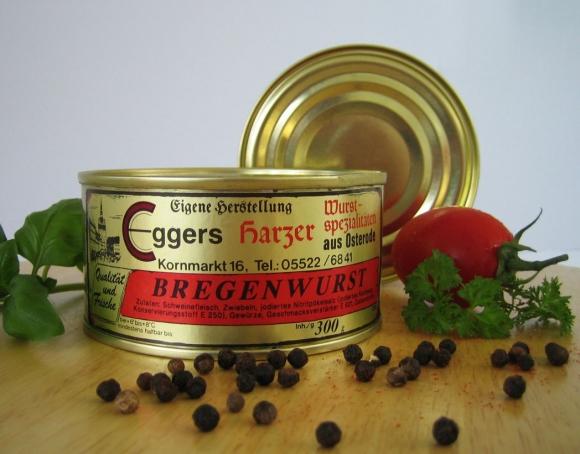 Harzer Bregenwurst - zum Grünkohl oder Braunkohl
